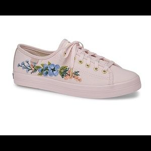 Keds Embroidered Herb Garden Sneakers, Brand New